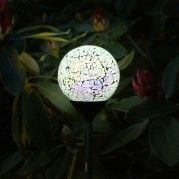 Solar Glass Mosaic Stake Light - Pastel Effect