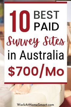 Are you in Australia and are looking for the best paid surveys to make money? If yes, be sure to grab this list of Australian online surveys for money. Surveys That Pay Cash, Online Surveys For Money, Paid Surveys Australia, How To Make Money