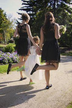Toms, Bridesmaids, flowergirl