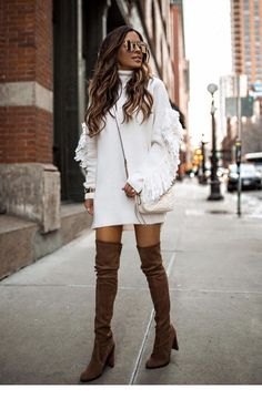 Winter is fast approaching. Looking for the best casual winter outfits to copy? the best cold weather casual winter outfits for women that still look good! Casual Winter Outfits, Winter Night Outfit, Winter Outfits For Teen Girls, Night Outfits, Winter Dresses, Classy Outfits, Fall Outfits, Cute Outfits, Fashion Outfits
