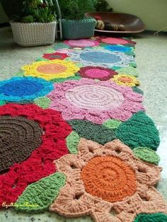 Santa Clara Artesanato: Crochê gigante