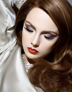Old Hollywood Glam makeup...so classic and sophisticated