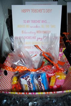 gallamore west: A Sweet Little Teacher Appreciation Idea