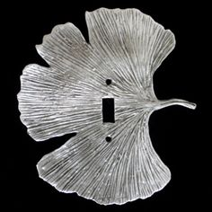 Don Drumm Studios - NEW! Don Drumm Large Ginkgo Leaf Switchplate