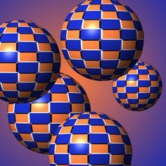 Floating Spheres Optical Illusion - http://www.moillusions.com/floating-spheres-optical-illusion/
