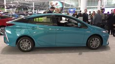 2017 Toyota Prius Prime being shown off and talked about at the New England international Auto Show #Toyota #cars #RAV4 #car #Prius #Corolla