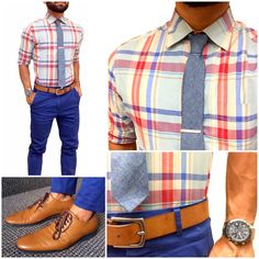 Love this color combination of blues, browns, tans, peach, and orange