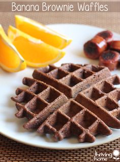 A healthy breakfast recipe that the kids will love: Banana Brownie Waffles. Packed with nutrition and flavor, these waffles are a crowd pleaser. They are also a great recipe to double the batch and freeze for future busy mornings.
