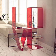 Anita Love Shelf Red, 870€, now featured on Fab.