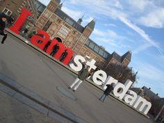 Waterlooplein en Amsterdam