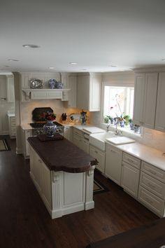 White w/ Glaze Kitchen 10