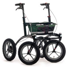 We offer the best high-quality and unique mobility aids in the world. Our Swedish rollators and walkers promote your mobility, your health and your enjoyment of the outdoors. Mobility Aids, Chain Drive, Bike Brands, Road Bike Women, Bicycle Maintenance, Medical Conditions, Cool Bikes, Mountain Biking, Black And Grey
