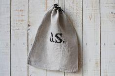 Antique linen sac