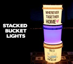 Top Outdoors Hacks 40 Creative And Cheap DIY Bucket Light For Your Camping Living