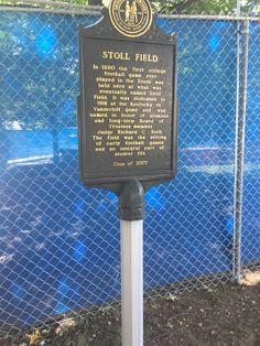 Memorial dedicated to football players