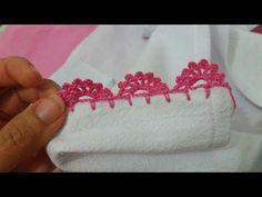 Como fazer bico de crochê carreira unica, um barrado de crochê para pano de prato, toalha ou fralda que é muito lindo e fácil. Espero que goste desse tutorial de crochê. Até mais!