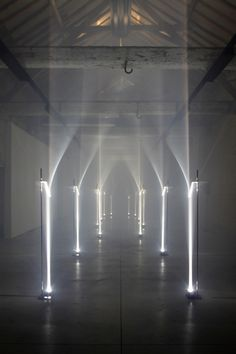 Arcades by Troika. Arcades is a site specific installation for Future Primitives, Biennale Interieur 2012, Kortrijk Belgium.