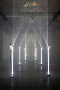 Arcades by Troika - Site specific installation for Future Primitives, Biennale Interieur 2012, Kortrijk Belgium