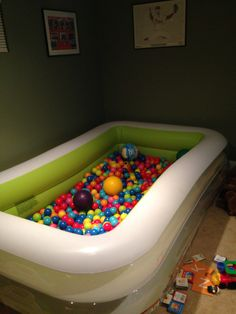 41 best homemade ball pits images in 2014 ball pits - Mattress made of balls ...