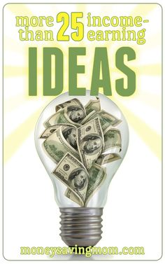 Income-Earning Ideas