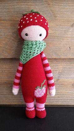 Risultati immagini per lalylala aardbeienmeisje Crochet Amigurumi, Amigurumi Patterns, Amigurumi Doll, Crochet Dolls, Crochet Fairy, Love Crochet, Knit Crochet, Crochet Hats, Craft Ideas