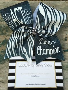 NEW sublimation cheer bows over at www.facebook.com/bowchikbyjennyshaw