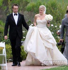 Alyssa Milano & David Bugliari (August 15, 2009) Gown ...