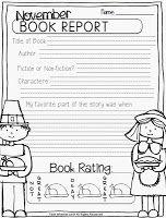 May Book Report  St Grade Fantabulous Freebies  Homeschool St