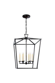 """Darlana Large Lantern in Large $943. Height: 34"""" Width: 24"""""""