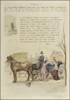 Les Boulevards de Paris 1877 by peacay, via Flickr