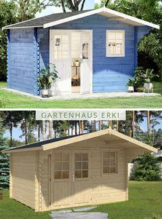 Gartenhaus Satteldach Mit Schleppdach