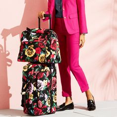 Never mix up your bag at baggage claim again. Shop our brightest rolling luggage styles.
