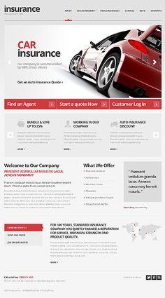 Car Insurance WordPress Theme #website http://www.templatemonster.com/wordpress-themes/42320.html?utm_source=pinterest&utm_medium=timeline&utm_campaign=grey