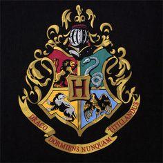 Harry Potter Hogwarts Color Crest