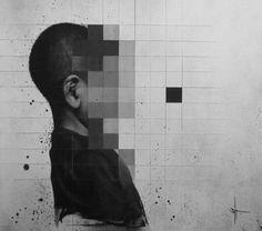 Street art schilderi