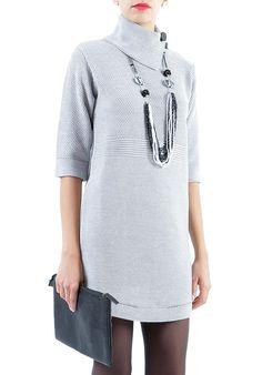 CONTINUANO I SALDI !!Oggi ABITO LANA GRIGIO PERLA: caldissimo e chic! http://www.mireafashion.it/it/abiti-donna-maglieria-italiana/35237-abito-lana-instinct--2030007181.html… #fashion #sales #moda  #shopping #outfitoftheday #discounts #promotions #dresses