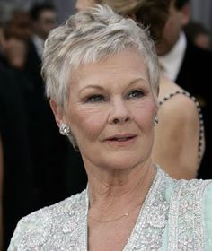 judi dench hair - Google Search