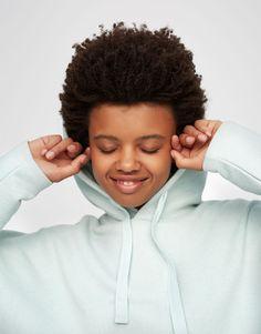 :Sudadera capucha básica