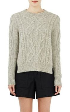 Isabel Marant Cable-Knit Gayle Sweater at Barneys New York