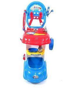 kids learning educational toy doctor play set trolleydoctor kit