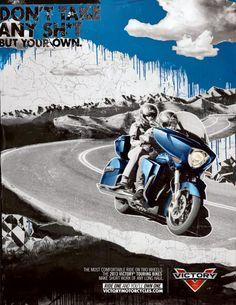 Campaña de ilustraciones inspiradas en este tour para motociclistas aficionados a las dos ruedas.