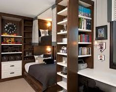 very small bedroom storage ideas - Google Search