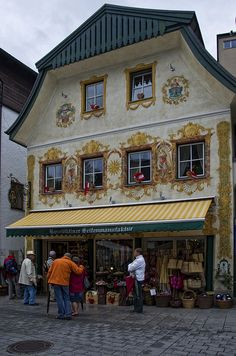 One of the tourist shops in downtown St. Wolfgang