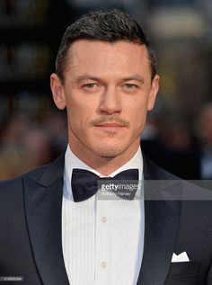Luke Evans attends The Olivier Awards with Mastercard at The Royal Opera House on April 3, 2016 in London, England.
