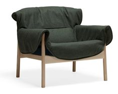 "Andreas Engesvik's chair follows the form of a ""gentle, warm person"""