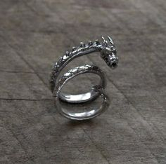 Dragon ring...to keep a dragon close... just in case...