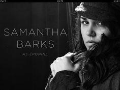 Les Mis (2012) | Samantha Barks as (Éponine Thénardier) ~ Screen shot from iBooks