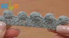 Work Puffy Bullion Block Stitch Crochet Tutorial 40 Part 3 of 7 Great Trimming Idea  http://sheruknitting.com/videos-about-knitting/crochet-for-beginners/item/223-crochet-puffy-bullion-block-stitch-basics.html Learn how to crochet a puffy bullion block stitch. Unusual but very beautiful way to work a bullion block stitch. In this tutorial we demonstrate a bullion block working around a treble crochet post and repeat yarn over and pull a loop through 7 times.