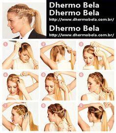 ideias para cabelo