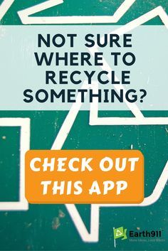 Finding out where to recycle all that junk in my trunk is a pain. This app makes it super easy to search for a recycling location in the area.